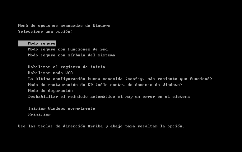 borrar virus modo seguro de windows